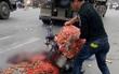 Bắc Ninh: Người phụ nữ chở hàng bị xe tải cán chết thương tâm
