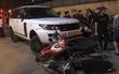 Hà Nội: Nghi vấn người đàn ông cướp xe Range Rover bỏ chạy, đâm vào 2 người cùng hàng loạt xe máy