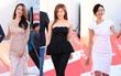 Thảm đỏ liên hoan phim quốc tế gây chú ý với màn đọ sắc của loạt mĩ nhân không tuổi đình đám xứ Hàn