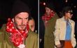 David Beckham mặt lạnh như tiền, không chút hạnh phúc khi đi bên vợ