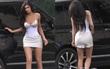 Chẳng cần bikini, Kylie Jenner cũng làm khối fan mê mẩn body đồng hồ cát gợi cảm