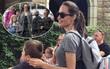 """Angelina Jolie cùng các con """"rồng rắn"""" đi chơi mừng sinh nhật cô bé Shiloh"""