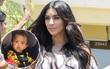 Vì hành động có thể làm con gãy cổ, Kim Kardashian gây tranh cãi ầm ĩ trên mạng