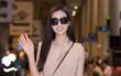Sau giải thưởng Hoa hậu Nhân ái làm nên lịch sử ở Miss World, Đỗ Mỹ Linh trở về và xuất hiện rạng rỡ ở sân bay Việt Nam