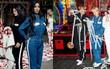 """Màn """"đụng hàng"""" thế kỷ: V lẫn Jimin (BTS) mặc y chang chị em nhà Kim và Kylie Jenner"""