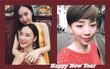 Sao Việt xúng xính váy áo đi chúc Tết, tụ tập vui chơi cùng họ hàng trong sáng mùng 1