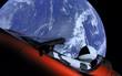 """""""Xe điện không gian"""" của Elon Musk có thể đâm vào Trái đất"""