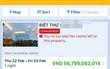 Mùng 4 Tết, biệt thự nguyên căn tại Đà Lạt hiện giá 57 tỷ đồng/đêm trên các trang đặt phòng online khiến nhiều khách ngỡ ngàng