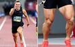 Cơ bắp đùi siêu khủng của vận động viên chạy nước rút người Australia