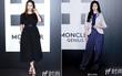 Diện đồ đen toàn tập, Krystal có phần mờ nhạt trước Trương Thiên Ái ở buổi triển lãm tại Milan Fashion Week