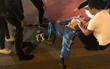 Hà Nội: Đang dọn vệ sinh trên đường Kim Ngưu, 1 công nhân môi trường bị xe máy đâm nguy kịch