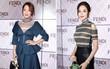 Kim Hee Sun lộ mặt bóng dầu trong khi Cổ Lực Na Trát thần thái ngút ngàn tại show thời trang Fendi