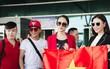"""Hương Giang diện nguyên cây đồ đỏ rực, mang theo 105 kg trang phục đi chinh chiến """"Hoa hậu Chuyển giới Quốc tế"""""""