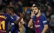 Suarez lập hat-trick, Messi ghi hai bàn giúp Barca thắng tưng bừng