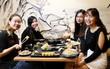 Ăn buffet tại Sushi Kei cực đã, giá cực mềm, đi 4 miễn phí 1