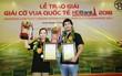 Kỳ thủ trẻ Việt Nam vuột ngôi vô địch giải cờ vua Quốc tế HDBank 2018