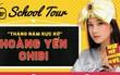 """Hoàng Yến Chibi lần đầu hát live """"Nụ hôn đánh rơi"""" nhân dịp """"xông đất"""" Saturday Radio phiên bản mới"""