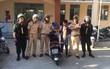 CSGT TP.HCM truy bắt, khống chế nam thanh niên xăm trổ trộm tài sản trên phố