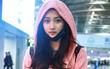 """Sau sự cố trở thành """"thảm hoạ thảm đỏ"""", bạn gái Luhan lại xuất hiện xinh đẹp như nữ thần tại sân bay"""