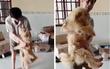 Clip xúc động: Người đàn ông òa khóc khi gặp lại chó cưng sau một năm xa cách