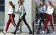 Tỷ lệ cơ thể có 1-0-2 của con gái Cindy Crawford: Chân dài đến gấp đôi cả thân mình!
