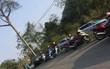 Hai vợ chồng và con trai 9 tháng tuổi tử vong trong xe ô tô Mercedes