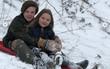 Trời càng lạnh, Harper Beckham lại càng tươi vì được chơi trượt tuyết cùng anh Cruz