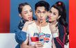 """Sao Việt so độ """"chất"""" trong thiết kế lấy cảm hứng từ lon Pepsi"""
