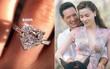 """Hồ Ngọc Hà khoe nhẫn kim cương trái tim cỡ đại kèm chữ """"Soon"""", phải chăng ám chỉ một đám cưới?"""