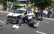 6 xe tông nhau liên hoàn trên đường phố Đà Nẵng, 5 người bị thương, giao thông hỗn loạn
