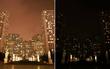 Chùm ảnh: Những địa điểm nổi tiếng Hà Nội - Sài Gòn trước và sau khi tắt đèn hưởng ứng Giờ trái đất!