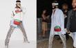"""Người ta thì đợi đến mùa """"quẩy"""" để mặc hở, mình Rihanna lại bịt mặt nạ, trùm kín như bưng"""