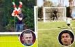 Ronaldo, Messi cực thích xây sân bóng mini trong vườn nhà