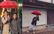 """Nhờ """"Chị Đẹp"""" quá hot, giới trẻ Hàn đang đổ xô sắm một chiếc ô đỏ siêu xinh!"""