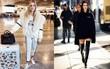 Không hổ danh là fashionista đình đám, Chiara Ferragni vẫn mặc chất lừ ngay cả khi đang bầu bí