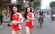 """Nữ sinh Đại học UEF với nét đẹp """"gây thương nhớ"""" trên đường chạy việt dã"""