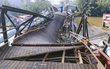 Trong 10 ngày nữa, cầu Long Kiển bị sập ở Sài Gòn sẽ khắc phục xong