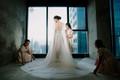 Váy cưới chính thức của Lan Khuê trị giá tới 500 triệu đồng đã được tiết lộ