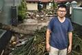 """Du khách kể lại giây phút sóng thần tấn công Indonesia: """"Con gái tôi mắc kẹt dưới hàng đống mảnh vỡ"""""""