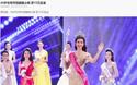 Không chỉ ở Việt Nam, Hoa hậu Đỗ Mỹ Linh còn đang là cái tên hot của báo chí Trung Quốc!