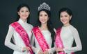 Ngẩn ngơ ngắm Hoa hậu Đỗ Mỹ Linh và 2 Á hậu Thanh Tú - Thùy Dung trong tà Áo dài trắng!