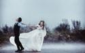 Lặn lội 200km vượt biển ra đảo, bất chấp trời mưa bão, cặp đôi này đã có bộ ảnh cưới để đời!