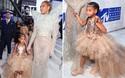 Không phải ngôi sao nào mà cô con gái 4 tuổi của Beyoncé mới là người diện bộ đồ đắt nhất đến VMAs