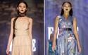 Phải nhập viện vào phút chót, Mai Ngô vẫn không bỏ lỡ cơ hội đọ trình catwalk với Phí Phương Anh trong Elle Fashion Show