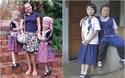 """Hai cô bé Thái Lan trong bức ảnh trộm nhí gây bão mạng """"Cháu không ăn trộm đồng hồ của cô chú"""""""