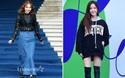 """Sooyoung mặc """"sến"""", Hyomin khoe chân dài bất tận dự show tại Tuần lễ thời trang Seoul"""