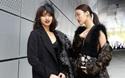 HOT: Lan Khuê & Mai Ngô mặc nguyên cây đen, tự tin xuất hiện tại Seoul Fashion Week