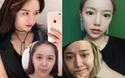 Nhan sắc của loạt hot girl đình đám: Khi trang điểm kỹ càng và khi để mặt mộc