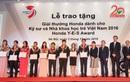 Sinh viên Đại học Bách Khoa Hà Nội đạt giải thưởng công nghệ sinh thái