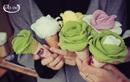 Kem hoa hồng đổ bộ Hà Nội
